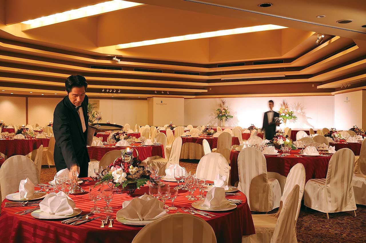 Banquets Rizzan Sea Park Hotel Tancha Bay Resort Hotel Okinawa Japan