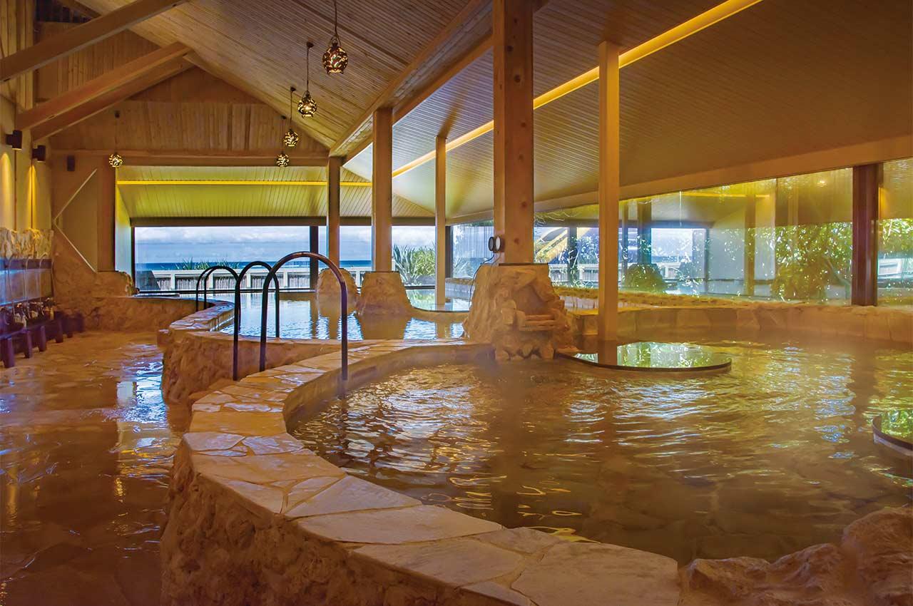 「リザンシーパークホテル谷茶ベイ フリー 浜の湯」の画像検索結果