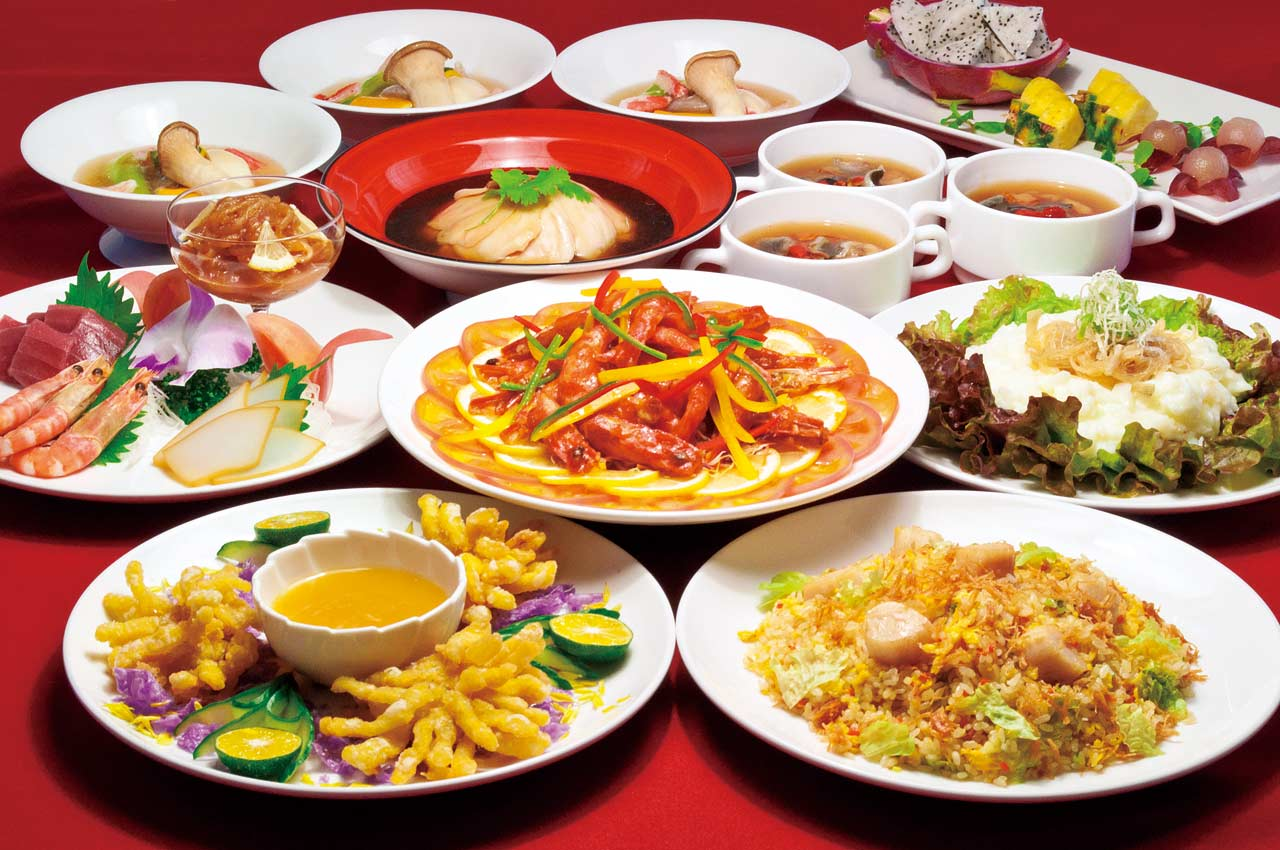 沖縄のホテルで中華なら、リザンの中華レストラン「飲茶&広東料理 マンダリンコート」